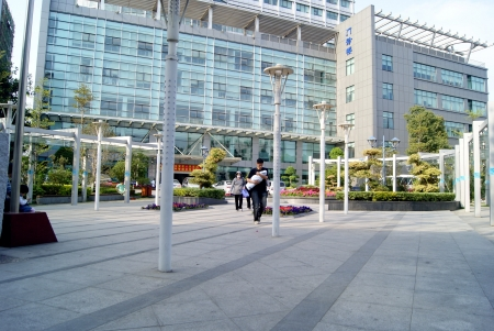 Hospital outpatient service building
