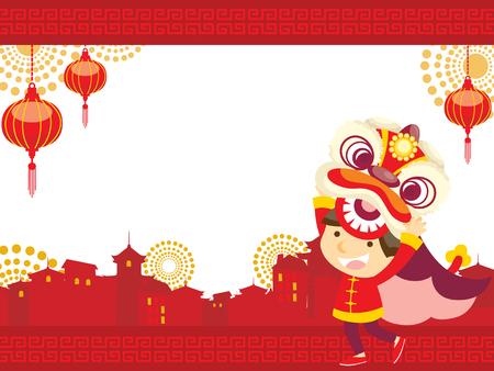 Chinese new yearLion Dance
