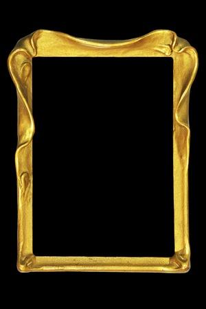 vintage art nouveau picture or mirror frame