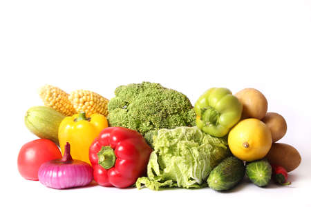 Photo for Set of different fresh vegetables close-up. Healthy eating - Royalty Free Image