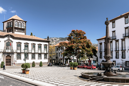 Funchal - Town hall Square - Madeira