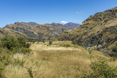 Neuseeland SÌdinsel -  Maori Point am Shotover River an der Skippers Canyon Road nördlich von Queenstown in der Otago Region