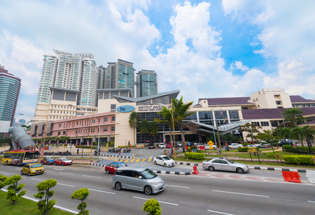 KUALA LUMPUR - SEP. 14, 2016: National Heart Institute of Malaysia. Established in 1992, it provides cardiology and cardiothoracicâ€surgery services for both adult and paediatric cases.