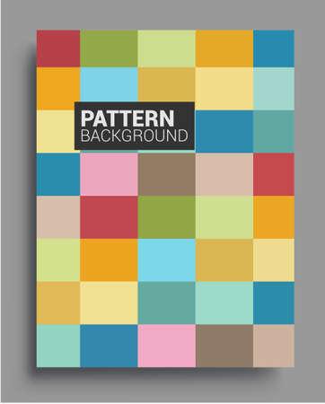 Photo pour Modern geometric abstract background covers. Cool gradient shapes composition, vector covers design. - image libre de droit