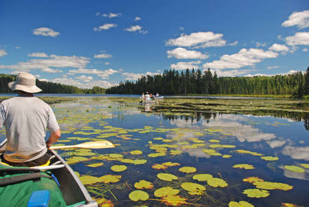 This picture was takenon Fran Lake in the Quetico Wilderness