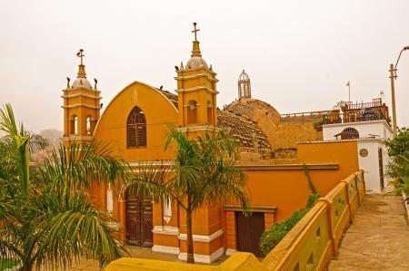 The Ermita Church in the Barranco District in Lima, Peru
