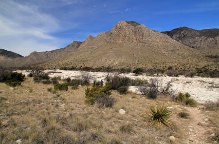 Dry Wash in Guadalupe Mountains National Park, Texas