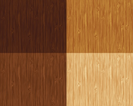 Seamless wooden pattern. 4 color variations.
