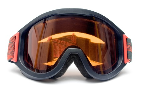 Eye protection isolated on a white background.