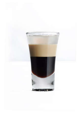 Photo pour A vertical isolated shot of a Bicerin drink - perfect for menu usage - image libre de droit