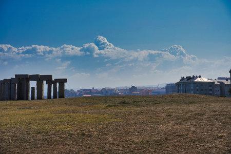 Photo pour A beautiful shot of the megalith in Spain - image libre de droit
