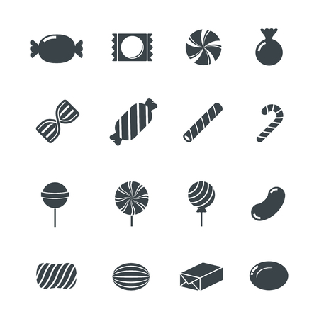 Illustration for Candy Icons. - Royalty Free Image