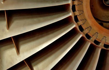 Photo pour Harrier engine - image libre de droit