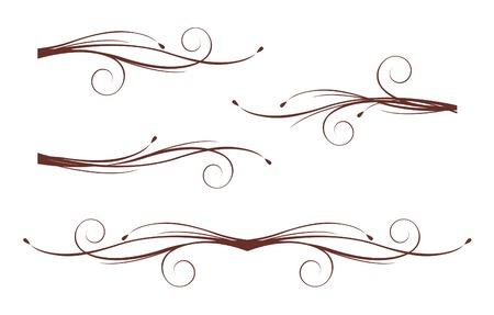 Scroll design elements