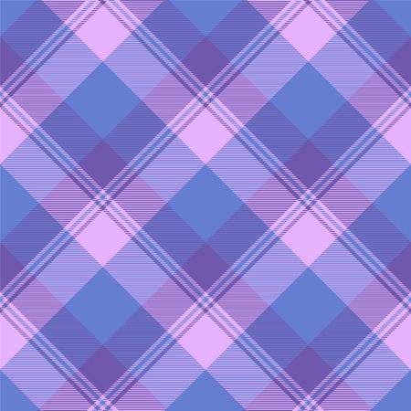 Illustration pour Seamless tartan vector pattern illustration - image libre de droit