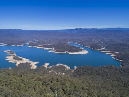Photo for Lake Burragorang is the primary source of drinking water for Sydney in New South Wales, Australia - Royalty Free Image