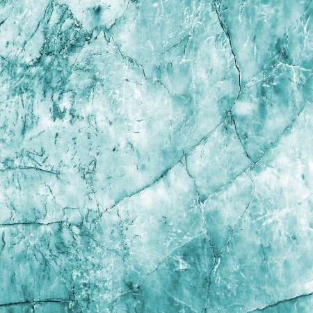 Ice Blue Marble Mural Wallpaper
