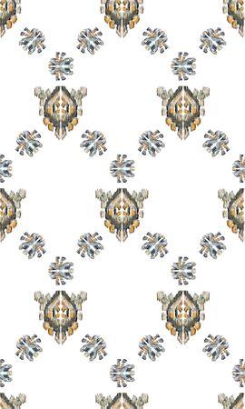 Photo pour Geometric pattern etnic indian ornamental on color background. Navajo motif texture ornate  design for surface print. Home decor. - image libre de droit