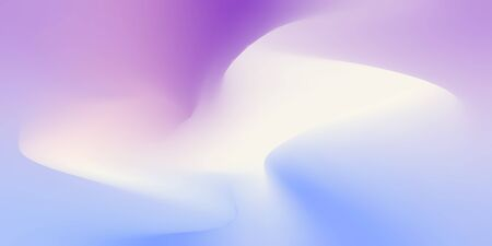 Illustration pour Gradient colorful blured like trendy pastel vector background. Abstract paintings effect brushed - image libre de droit