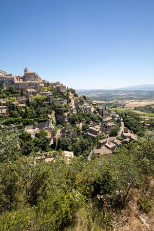 Medieval hilltop town of Gordes. Provence. France.