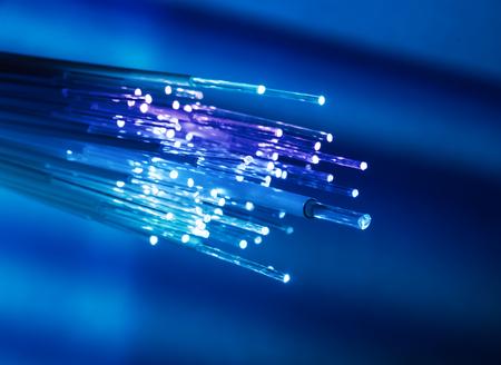 Photo pour fiber optical network cable - image libre de droit