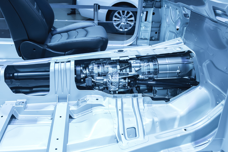 Photo pour Automotive transmission gearbox - image libre de droit