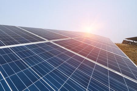 Photo pour Solar Power Plant - image libre de droit