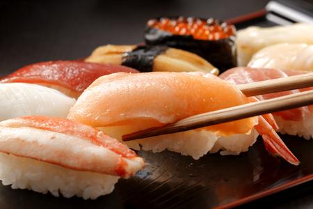Photo for Sushi Japanese food - Royalty Free Image