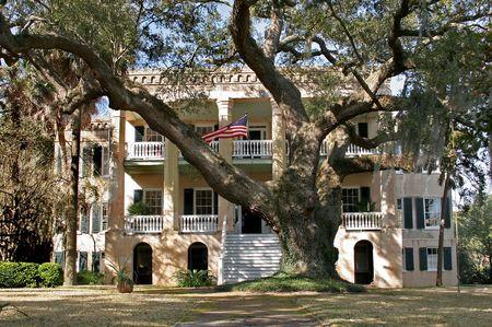 large southern mansion