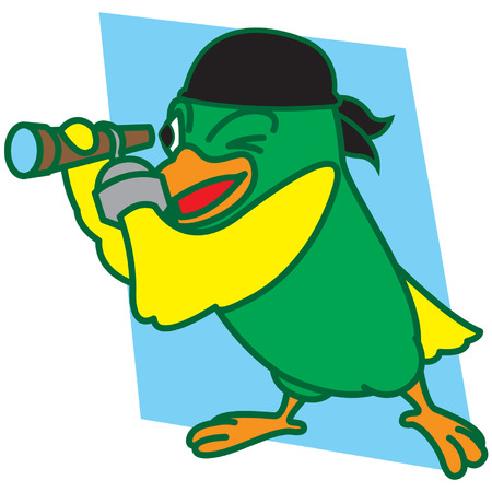 Pirates Bird