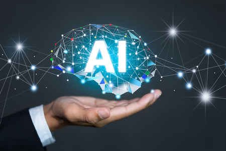 Photo for AI(Artificial Intelligence) concept. deep learning. - Royalty Free Image
