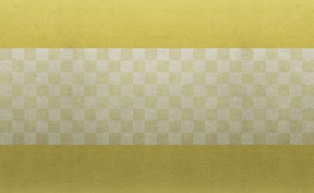 Photo pour Background material to feel the sum Gold Ichimatsu pattern - image libre de droit