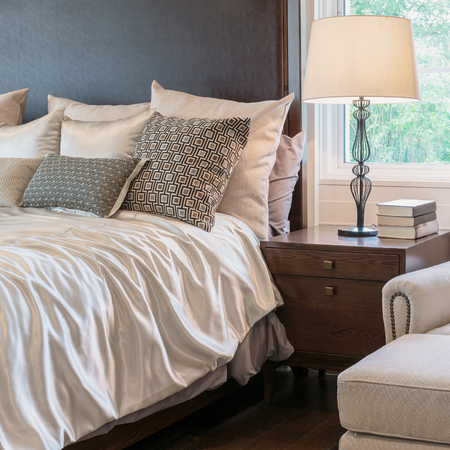 Photo for classic style bedroom interior with luxury decoration - Royalty Free Image
