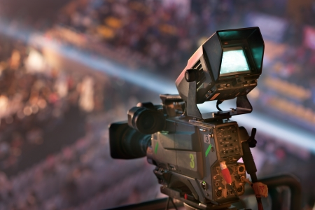 Photo for video camera in TV  concert - Royalty Free Image