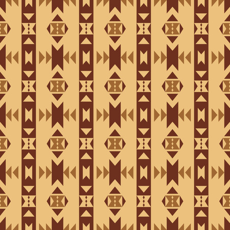 Aztec Style Seamless Pattern Abstract Wallpaper With Aztec