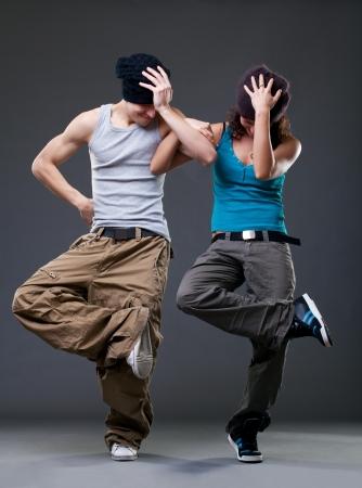 Passion dance couple