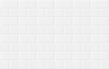 Photo for white vintage tiled wall - Royalty Free Image