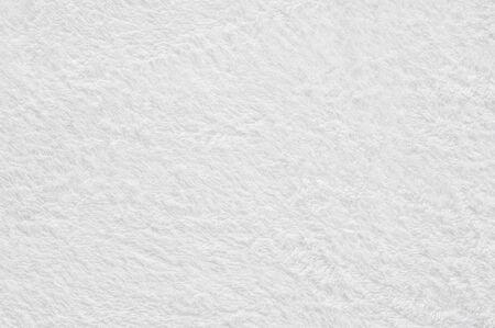Photo pour Soft focus of White towel texture background - image libre de droit