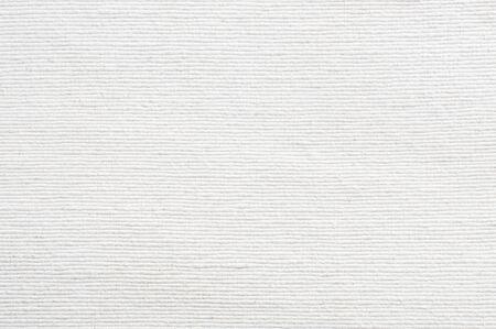 Photo pour White fabric texture background - image libre de droit