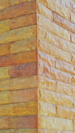 Sand stone wall surface, background of decorate