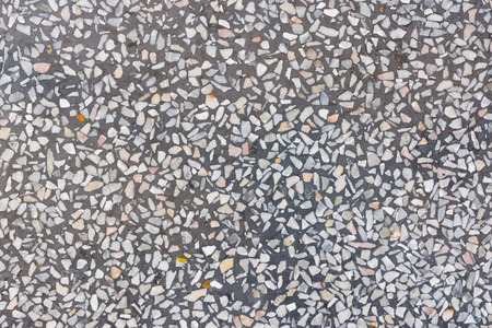 Photo for Background And Texture Of Decorarive Gray Terrazzo Floor - Royalty Free Image