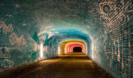 Munich Underpass Graffitti
