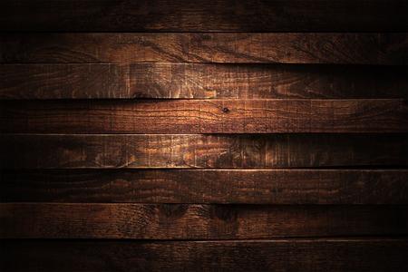 Photo pour Dark wood texture. Background dark old wooden panels. - image libre de droit