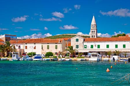 Village of Turanj waterfront view, Dalmatia, Croatia