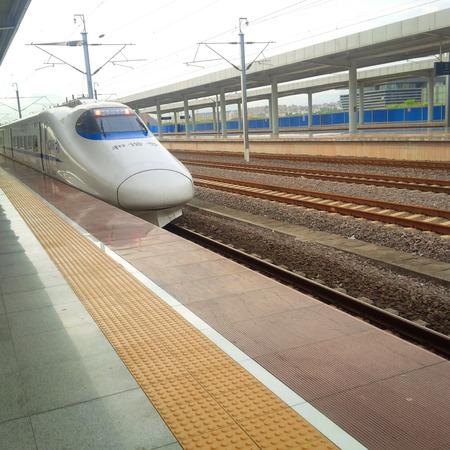 Trains on the tracks