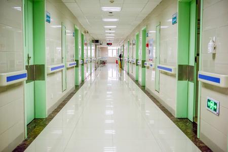 Photo for hospital aisle - Royalty Free Image