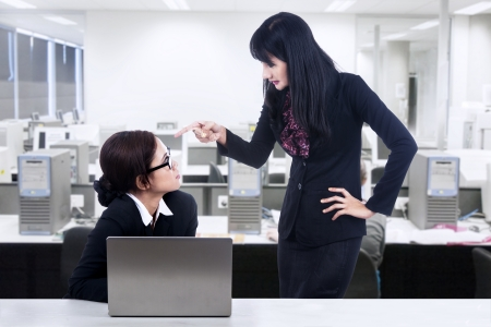 Businesswoman and employment issues