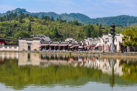 In 2011, village of xiugu, in yixian county, anhui province.