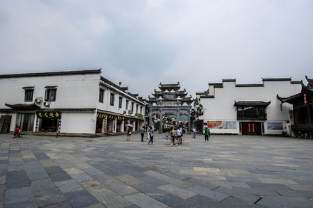 Jiangwan is a bright pearl in wuyuan culture and ecological tourism area.