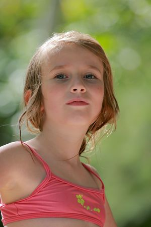 teenage girl with an attitude